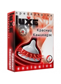 Презерватив LUXE  Exclusive   Красный Камикадзе  - 1 шт. - Luxe - купить с доставкой #SOTBIT_REGIONS_UF_V_REGION_NAME#