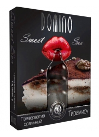 Презерватив DOMINO Sweet Sex  Тирамису  - 1 шт. - Domino - купить с доставкой #SOTBIT_REGIONS_UF_V_REGION_NAME#